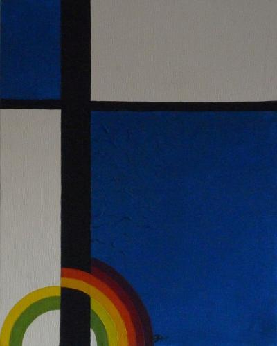 Geometrischer Regenbogen II