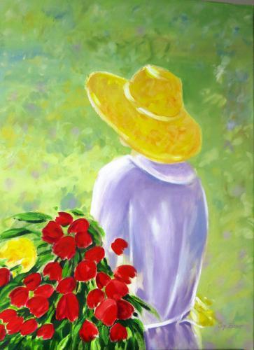 'Blumenfrau' von  ansehen