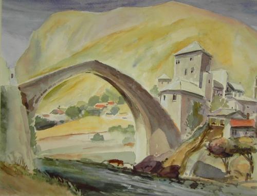 'Brücke in Mostar' von  ansehen