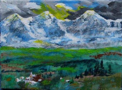 Jungfrau, Mönch und Eiger