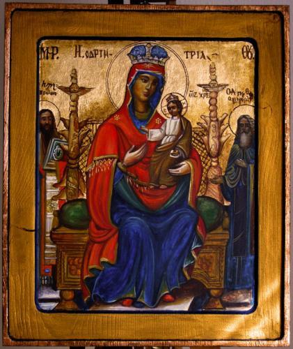 Gottesmutter die Thronende