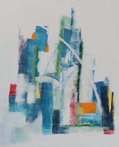 'Stadt mit Bogen' von Petra Hegemann