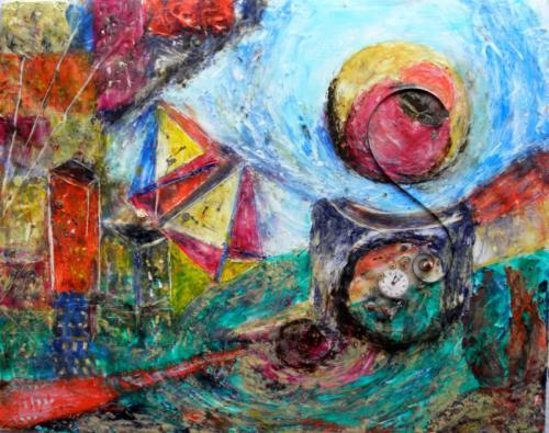 'Time Vortex I' von  Anna Banfhile