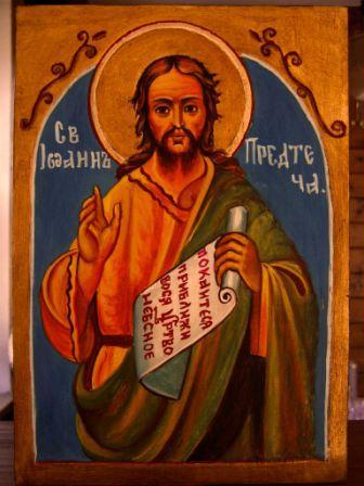 Hl. Johannes der Vorläufer