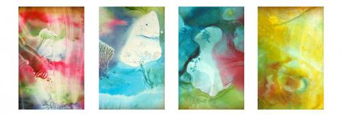 'ablution - die Waschung' von Ingeborg Berger