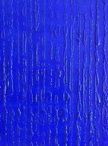 'Blue Structured Surface Ahrenshoop' von Volker Franzius