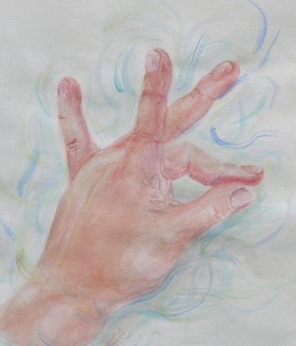 'Handstudie 2' von  KATTIE Kerstin Fichtner