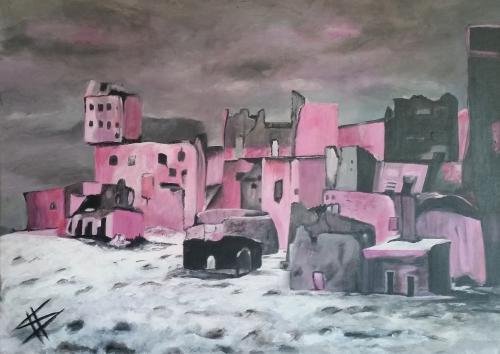 'Rabbitland II' von  Susanne Hoeckendorff