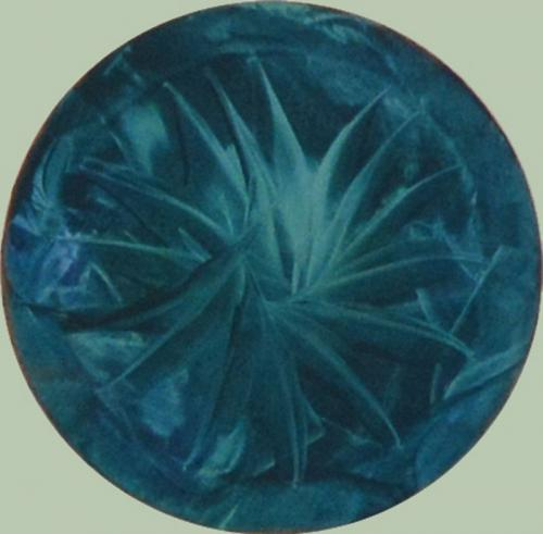 Blau/grüne Kreation