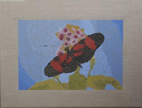 'Schmetterling 4' von pebu