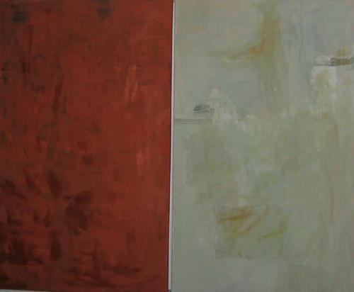 Kupferrot wenn die Farbe erlischt