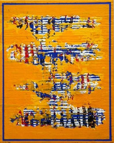 'Yellow Broken' von Volker Franzius