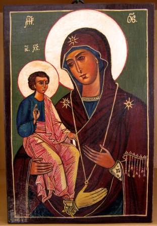 Muttergottes die Dreihändige
