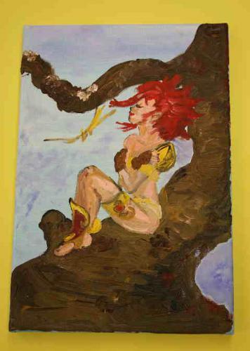 'Rubyin the wood' von  ansehen