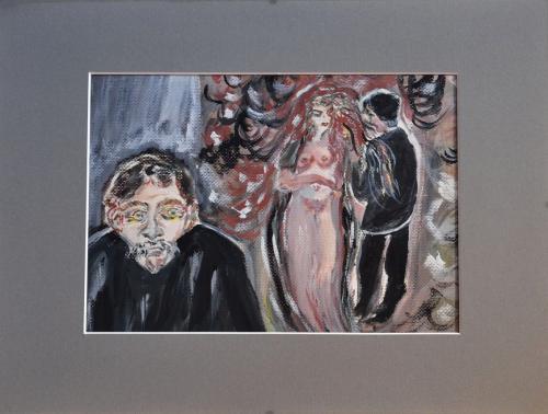 Eifersucht nach Edvard Munch
