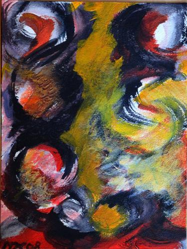 Abstrakte Farbkomposition