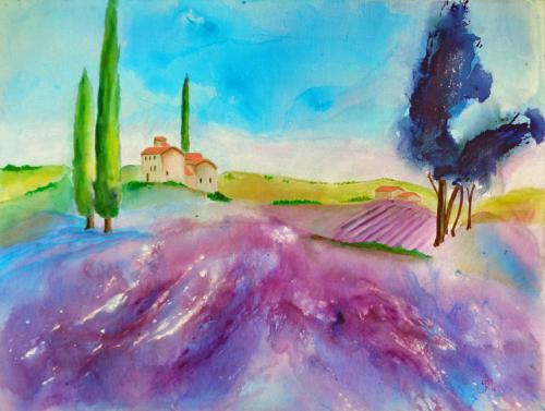 In der Provence ...