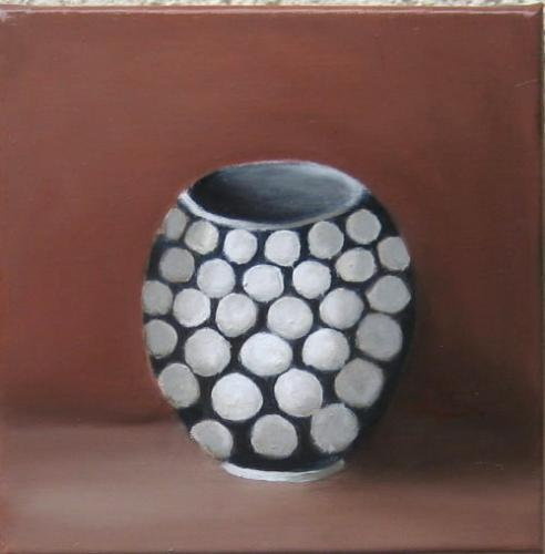 Nr.205 Vase mit Punkten