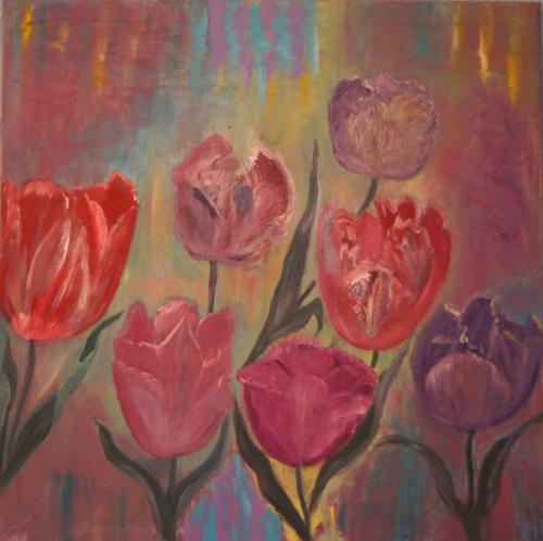 'Tulpen' von Lydias Malerei