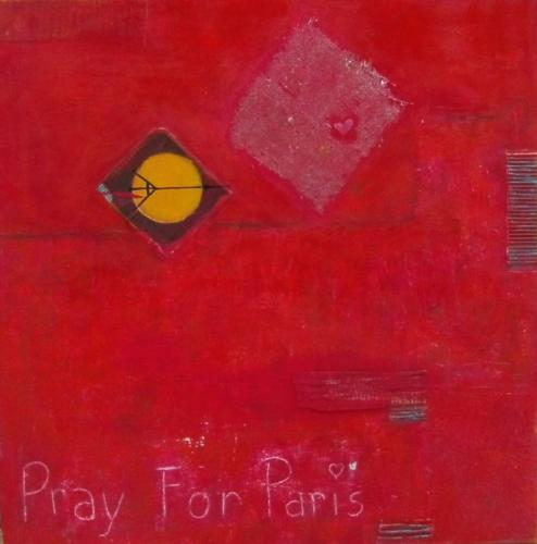 'Pray For Paris' von  gabi gigi adelung