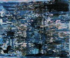 abstrakt in blau one