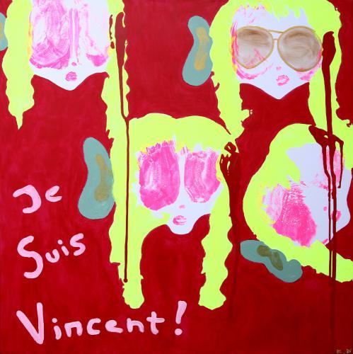 4 x Ich oder Je suis Vincent!