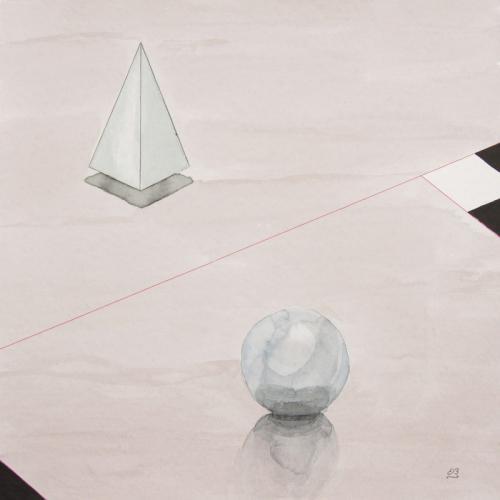 Ball and Pyramides
