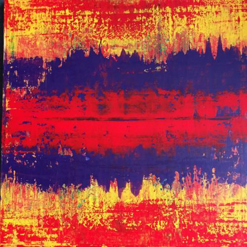 'Red in the City' von Volker Franzius