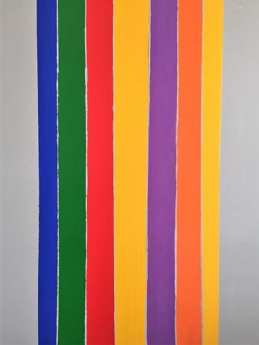 'Rainbow on Grey' von  Volker Franzius