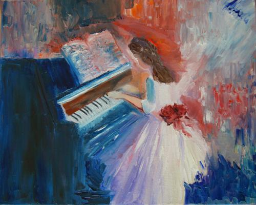 Die Klavierspielerin