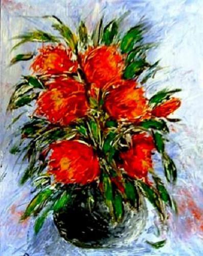 Mohn in Vase