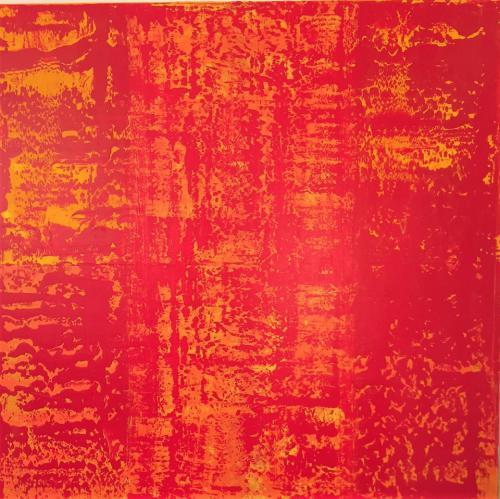 'Red-Yellow Patterned' von Volker Franzius