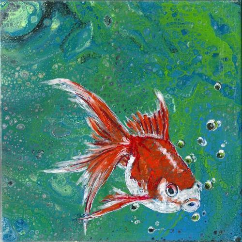 Goldfisch klein
