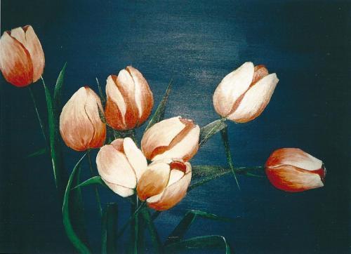 'Tulpen' von Michaela Petra Sturm