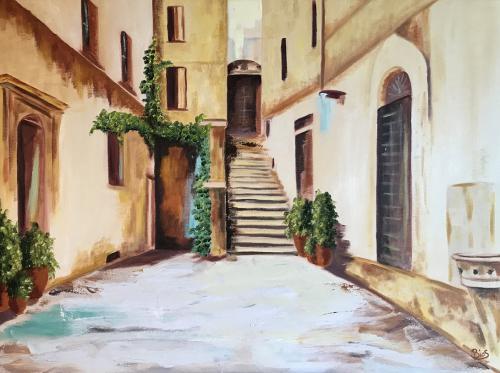Italien Treppe