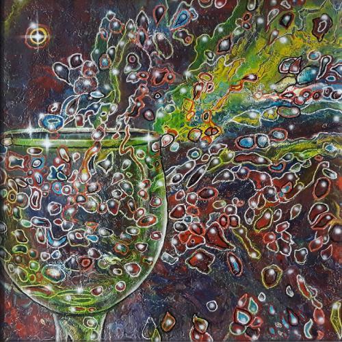 'Glaschaos' von Michaela Petra Sturm