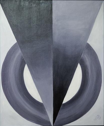 Abstraktion Grau