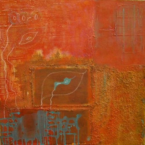 'Stillleben mit blau' von  gabi gigi adelung
