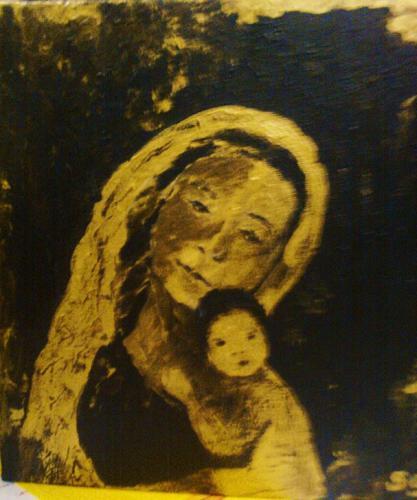 'Mutter mit Kind' von  Slavka Sabljo