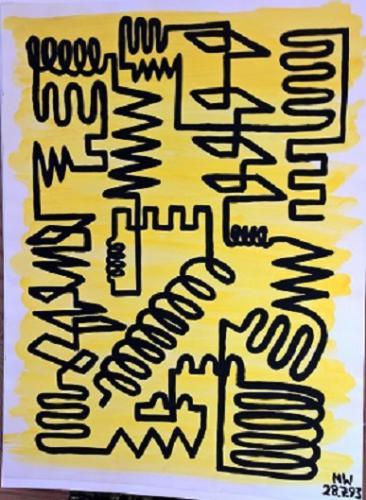 Lebenswege, gelb