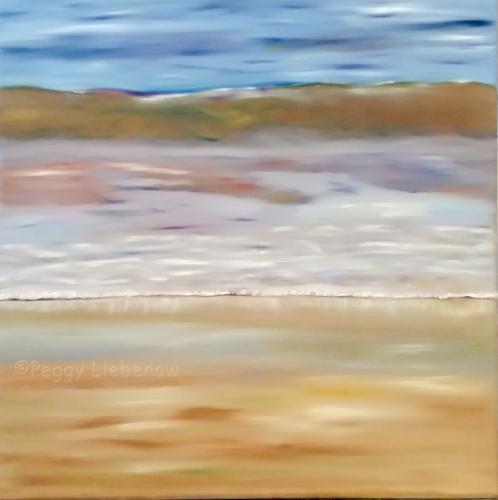 Kleine Strandwelle