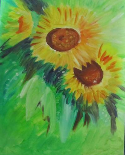 'Sonnenblumen' von HBaetke