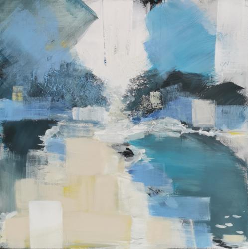 'Am Fluss ((Fnjóská)' von Auda Deichs
