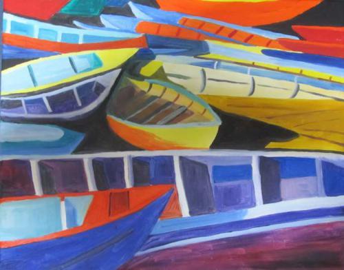 'Bunte Boote' von HBaetke