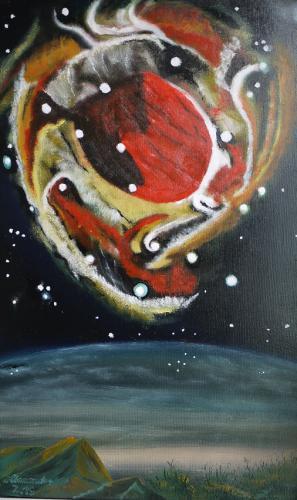Echo einer Explosion-Sternentod