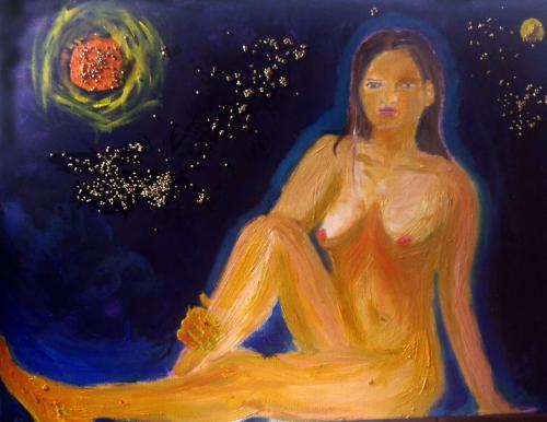 'Sonne, Mond und Sterne' von Caro vRuit