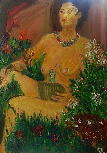 'Die Botanikerin' von Caro vRuit