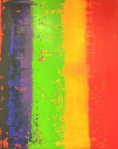 'Glowing Stripes' von  Volker Franzius