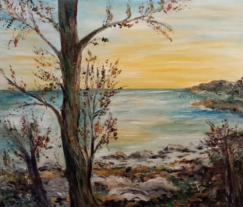 Insellicht im Herbst
