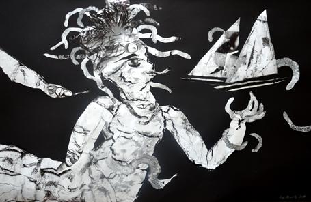 'Medusa' von  antje menzel